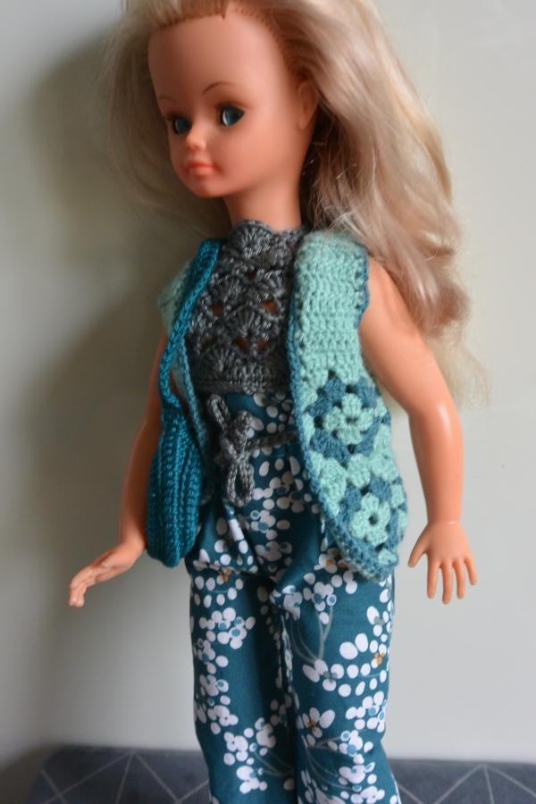 gilet sans manche crochet cathy cathie bella